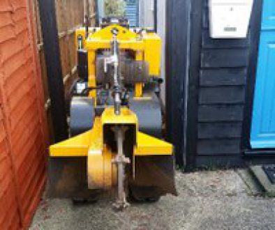 Narrow Tracked Stump Grinder And Operator For Hire Essex ...