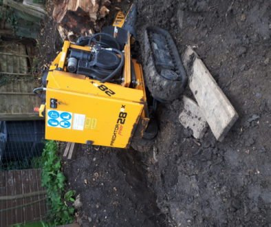 This customer was stumped by their tree stump!