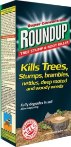 Roundup tree root killer