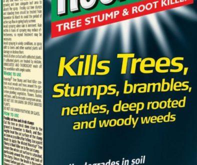 Roundup tree root killer